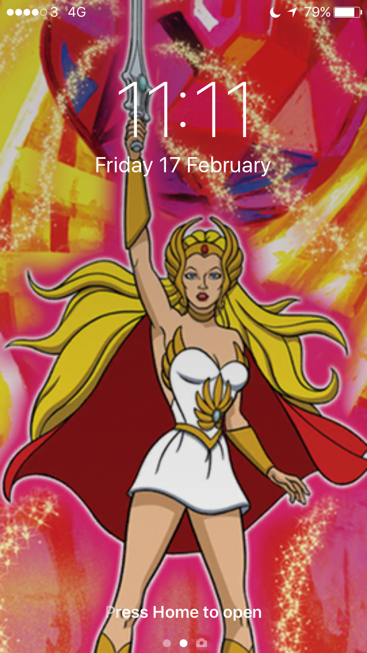 She-Ra is my screensaver for when I want to stand in my power! She-Raaaaaa! x