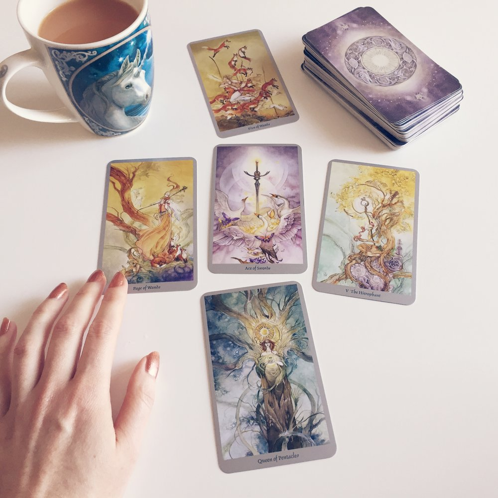 The Shadowscapes Tarot, one of my all time faves. x