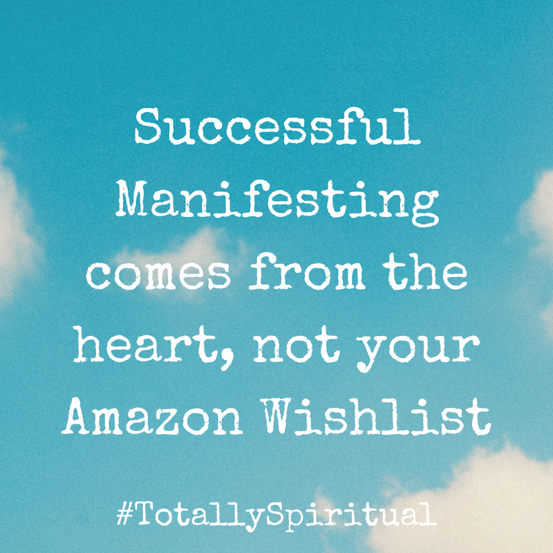 Manifesting from the heart quote x