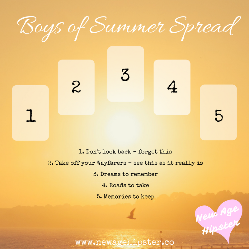 Boys of Summer Tarot Spread