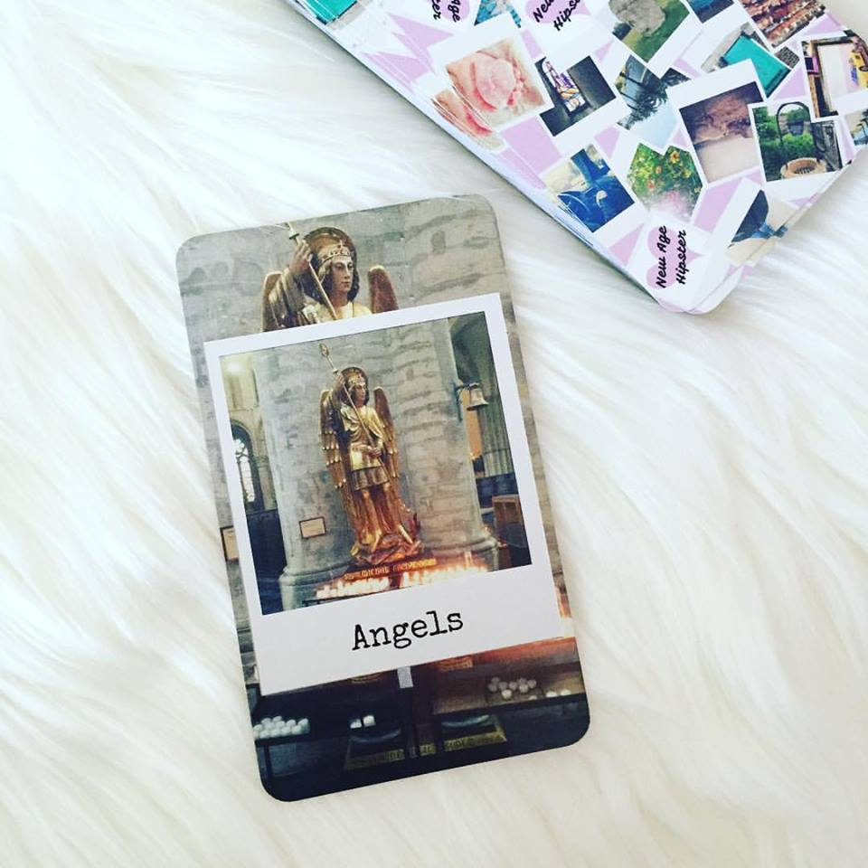 Angels from the NewAgeHipster InstaOracle, grab a deck here!