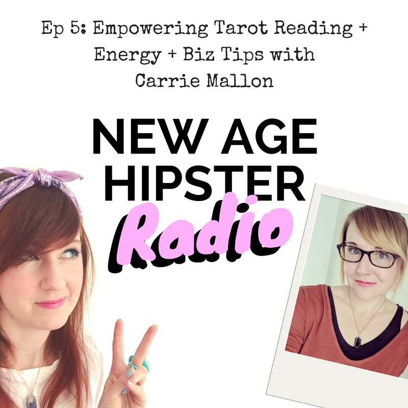 New Age Hipster Radio Ep5 with Carrie Mallon