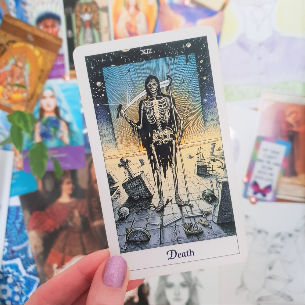 Death from the   Cosmic Tarot