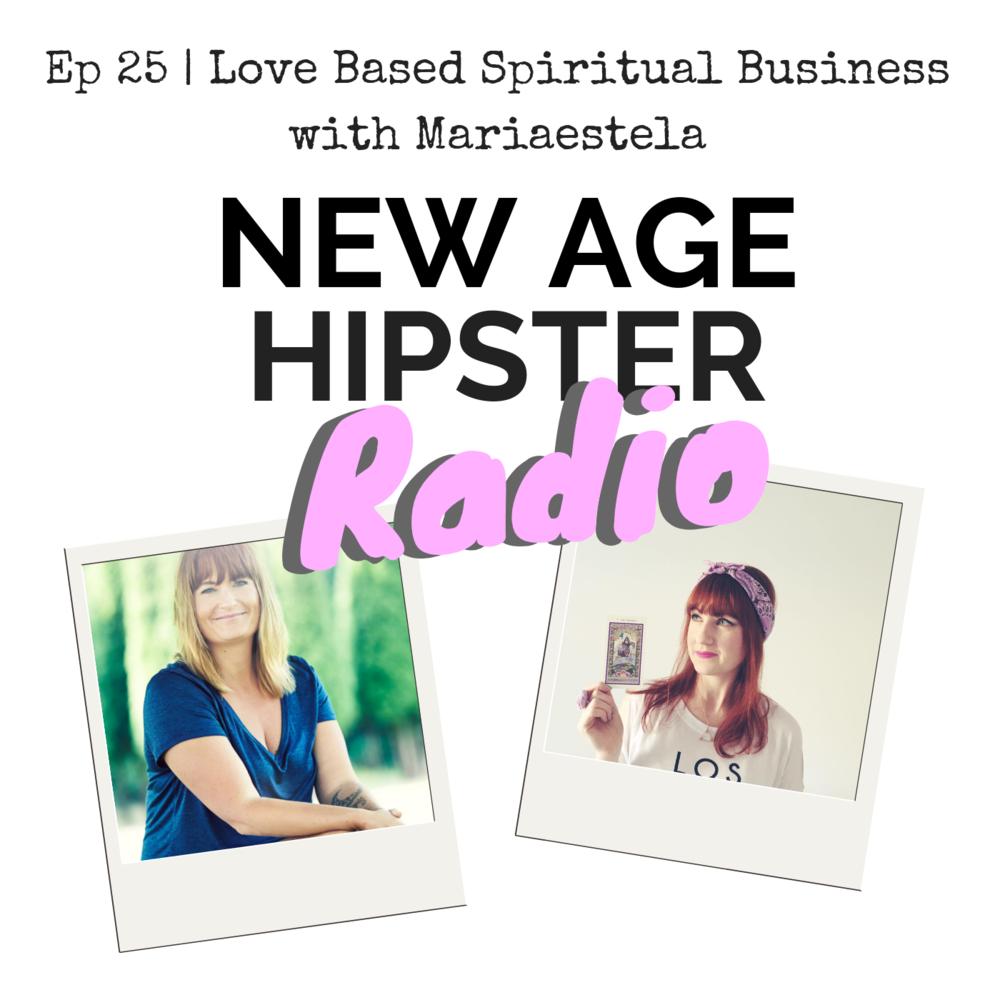 Mariaestela New Age Hipster Radio Podcast