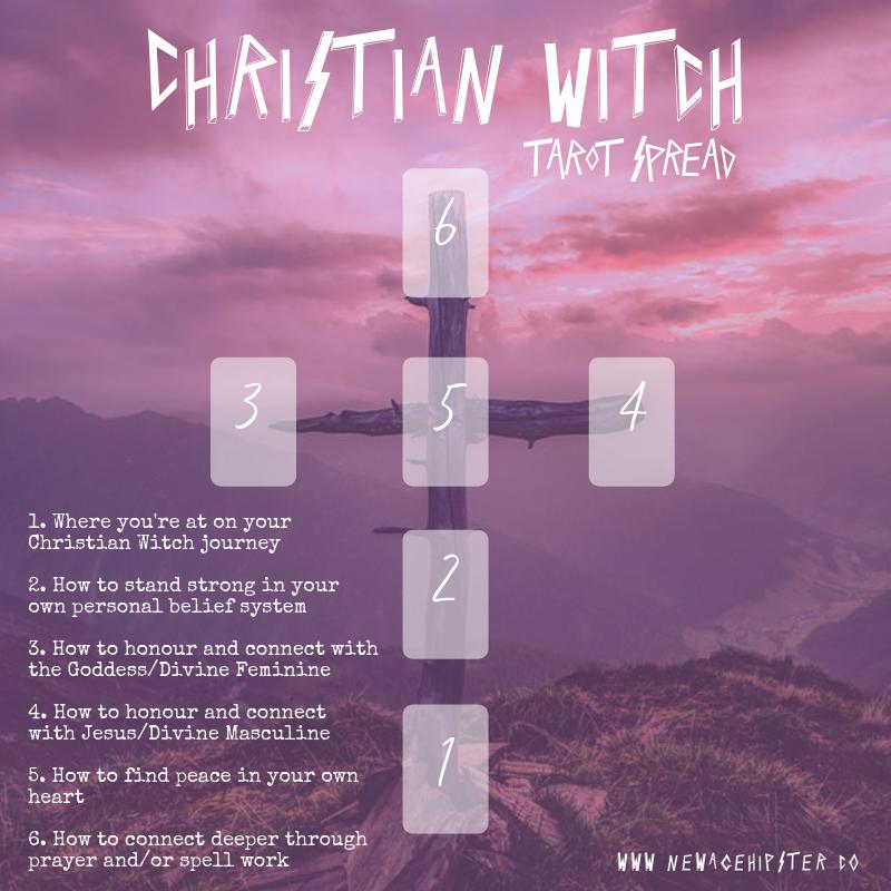 Christian Witch Tarot Spread