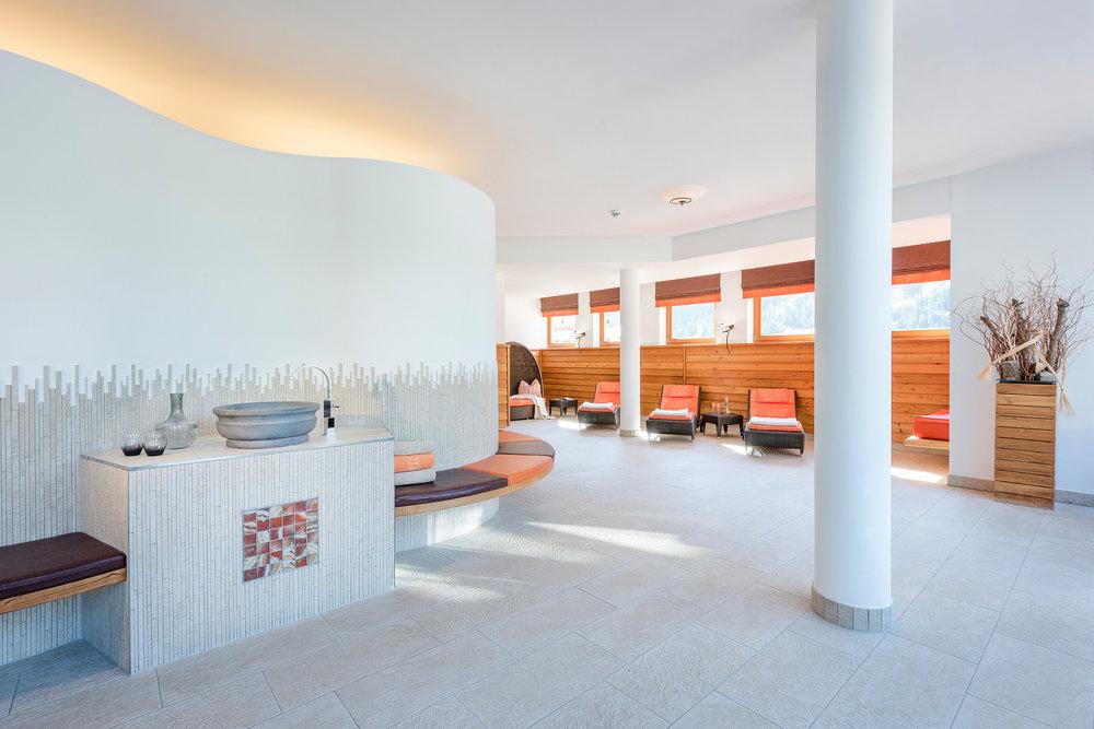 Wellnessbereich im Hotel Marten