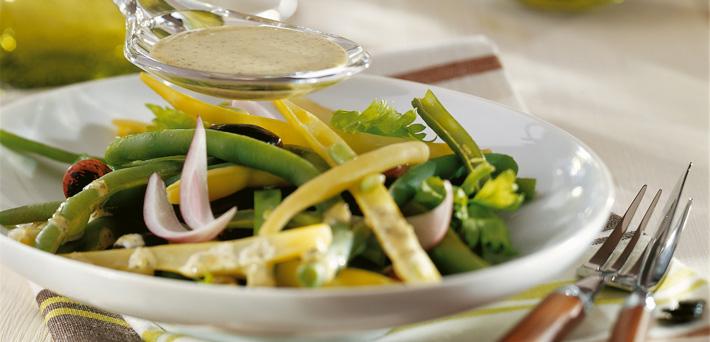 Kürbiskernöl Salat Dressing