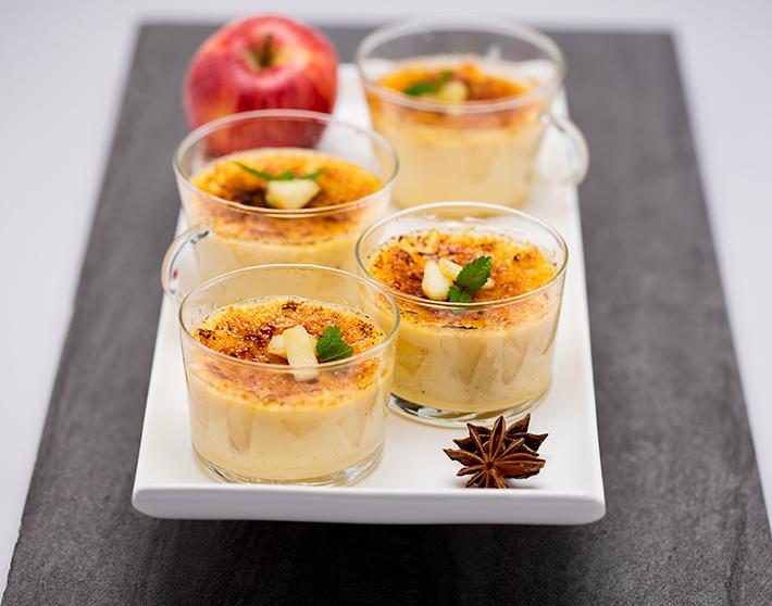 QimiQ Flambierte Apfelcreme