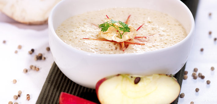 QimiQ Apfel-Sellerie-Suppe