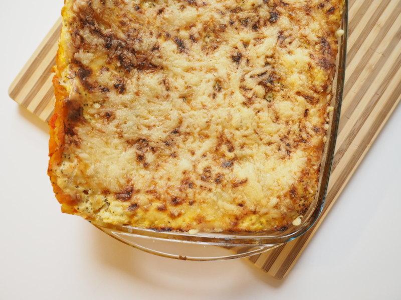 QimiQ Kürbis Lasagne