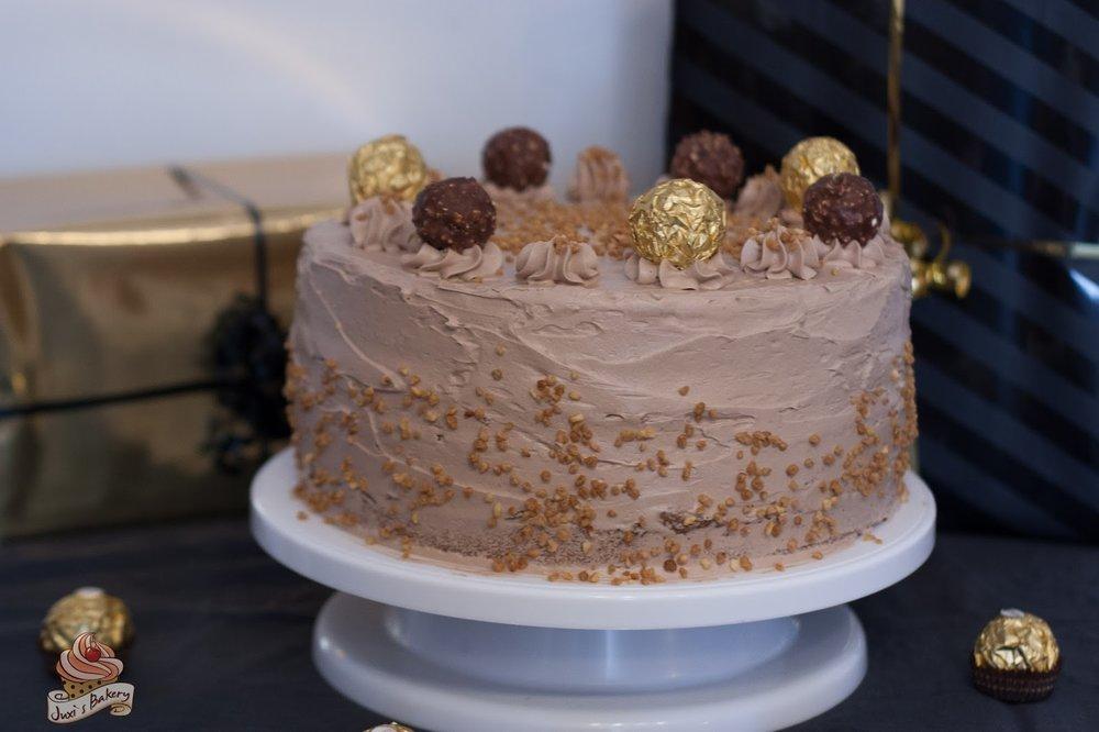 Die schönste Ferrero Rocher Torte der Welt