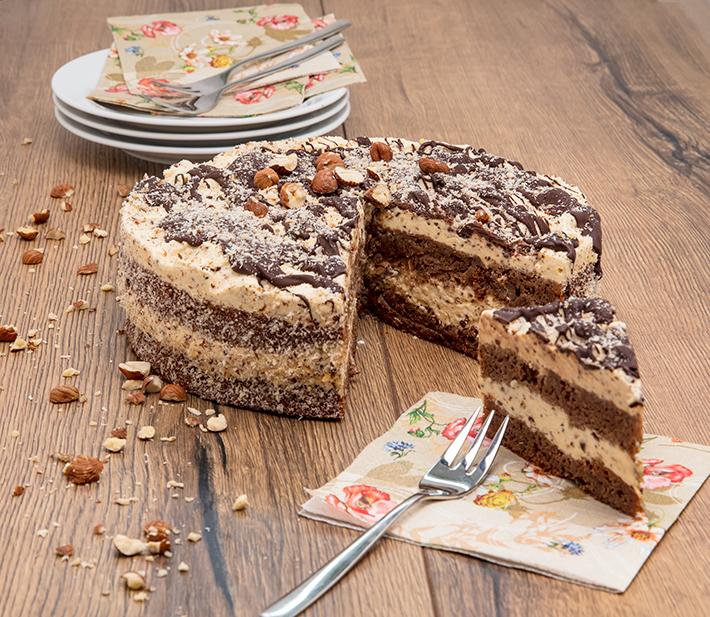 Torte mit vanille qimiq