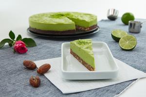 Avocado-Limetten-Torte