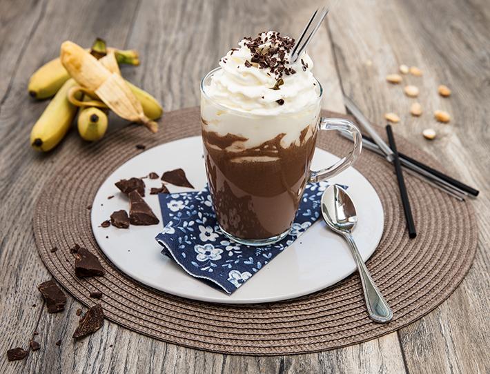 Schokolade Milkshake