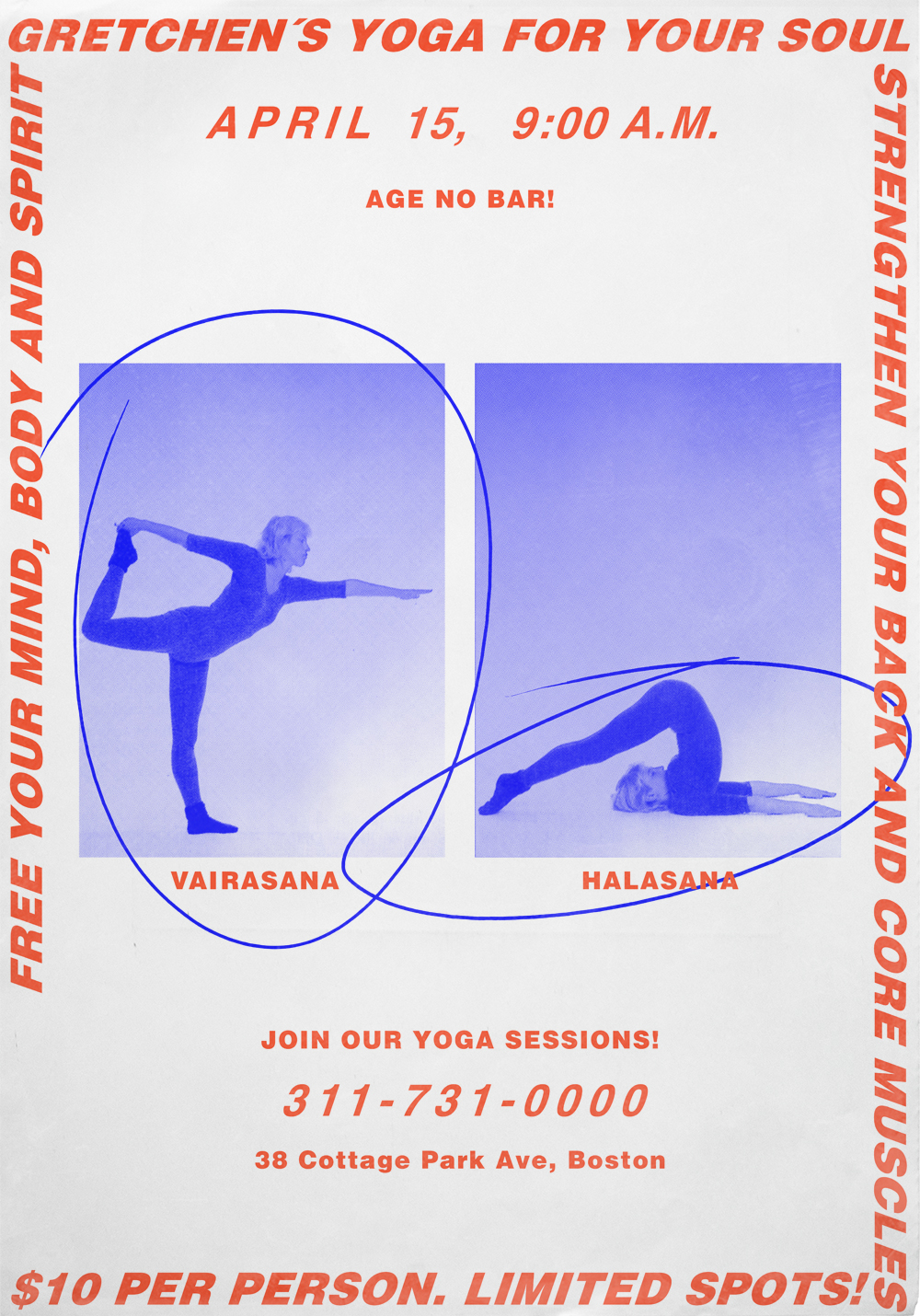 GRETCHEN´S YOGA FOR YOUR SOUL // Just for fun…