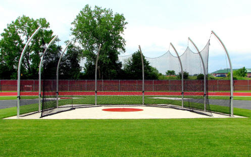 Discus Throws and Cage