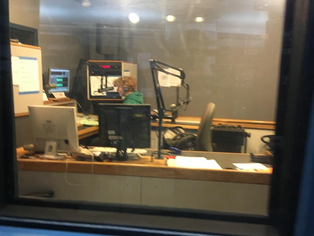 Student run radio station