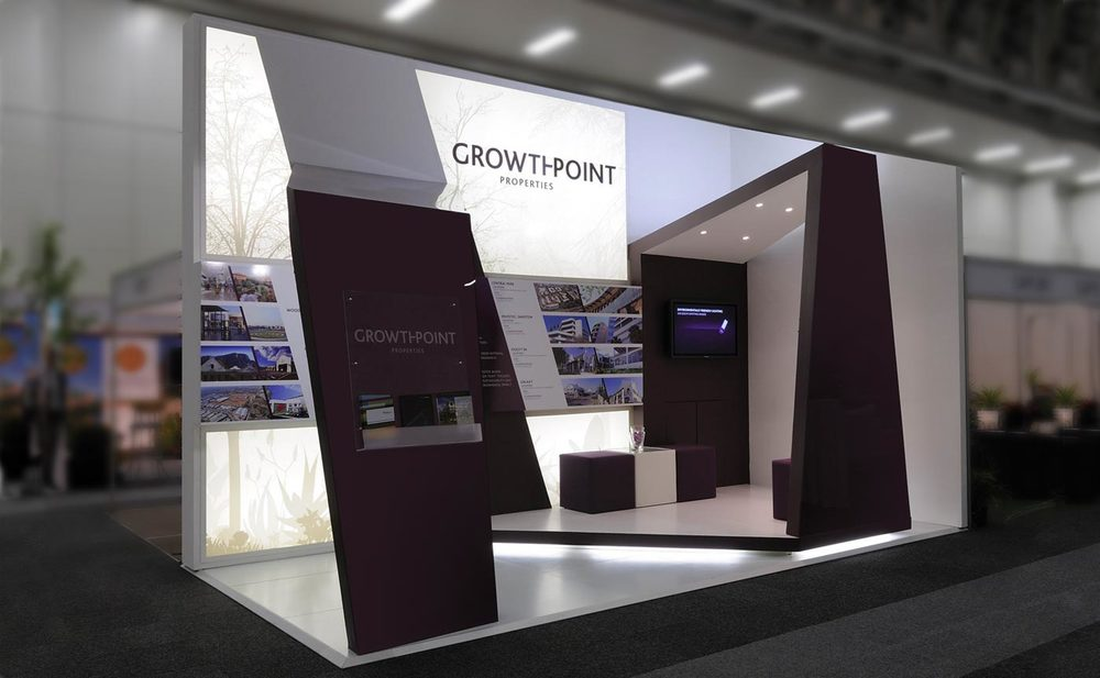 Expo Exhibition Stands Yellow : Growthpoint expo stand