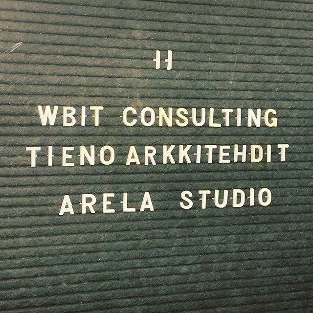 Come and meet us at Fredrikinkatu 29 #tienoarchitects #architect #office . . . #thursday #architecture #architects #architectslife #toimisto #graphicdesign #littlethings #coolstuff #finnishdesign #nordicdesign #architects #architecturelovers #architexture #pattern #design #typography #lettering #architecture #arquitectura #arkitektur #архитектура #architettura #arhitektura #architektur #instaarchitecture #❤️