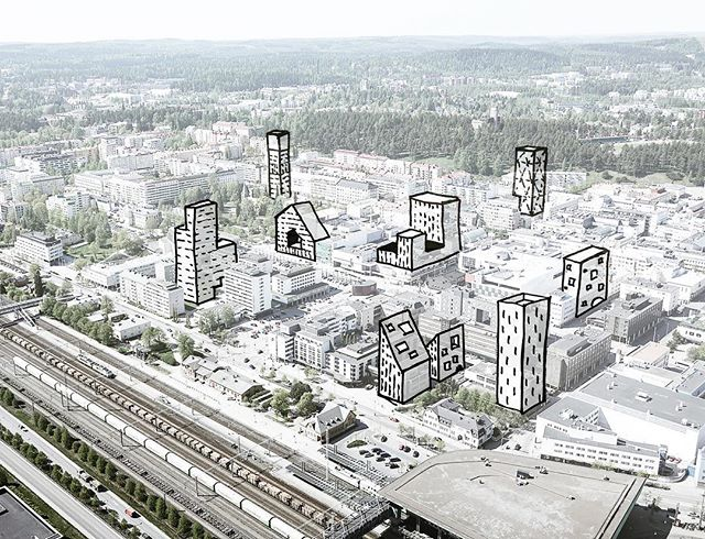 A sketch of an unsupervised city development 😱 Throwback to our last week presentation of a vision for developing Jyväskylä city upwards! In collaboration with Arkkitehtipalvelu 👍🏻 #jyväskylä #korkeanrakentamisenvisio #❤️ . . . #architecture #tb #aerial #highrise #drawing #architecturedose #arquitectura #arkitektur #архитектура #architettura #architektur #architects #arquitectura #unbuiltarchitecture #arkitektur #casa #architecturephotography #scandinaviandesign #designinspo #visuals #architectureporn #finearchitecture #archidaily @letsshowitbetter #instaarchitecture #architettura #amazingarchitecture #design @youngarchitectsplatform @av_platform @kntxtr @illustrarch @the_best_new_architects #pictureoftheday #archdesigndaily #instagood @designboom @archdaily @architecture_hunter