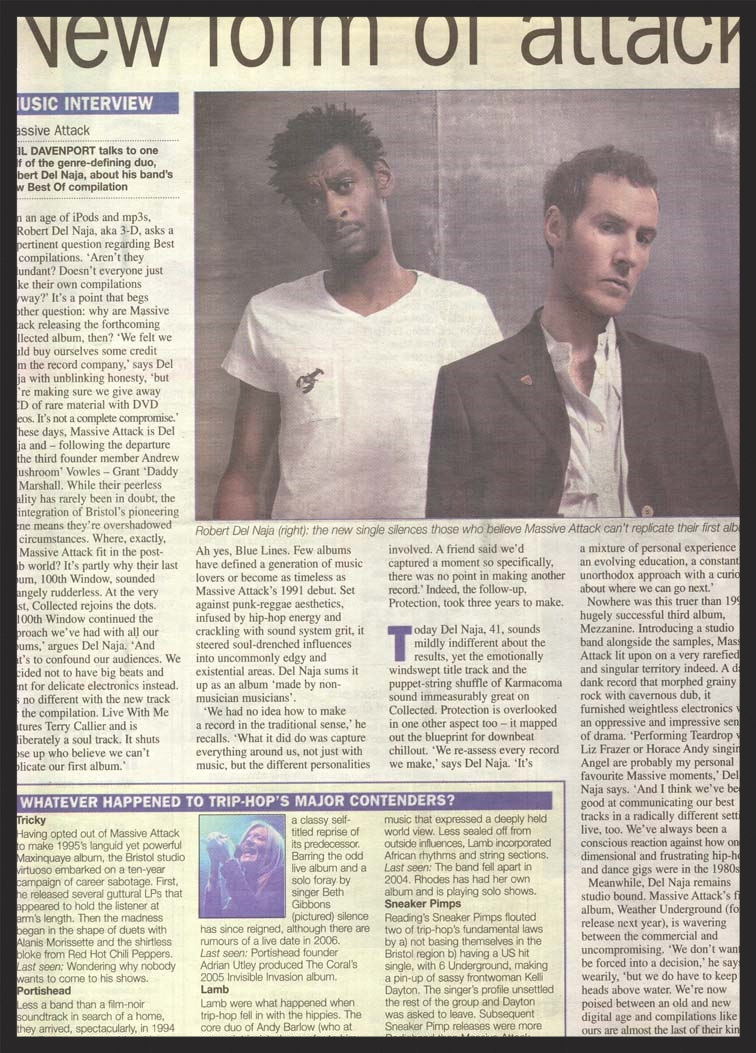 Metro Newspaper Interview