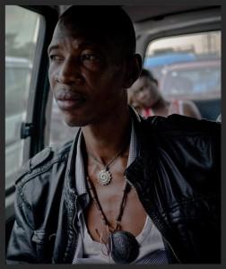 Jupiter Bokonjdi, the Congolese musician remixed for Robert Del Naja's Battle Box project.
