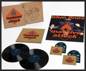 "The Deluxe Box which will contain the CD, DVD with 96K/24 bit high resolution audio files, the album split over two 180g vinyl LPs and the original 24"" x 18"" Blue Lines promo poster."