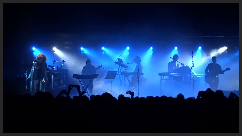 Martina Topley-Bird performing Paradise Circus live during the 2014 tour.