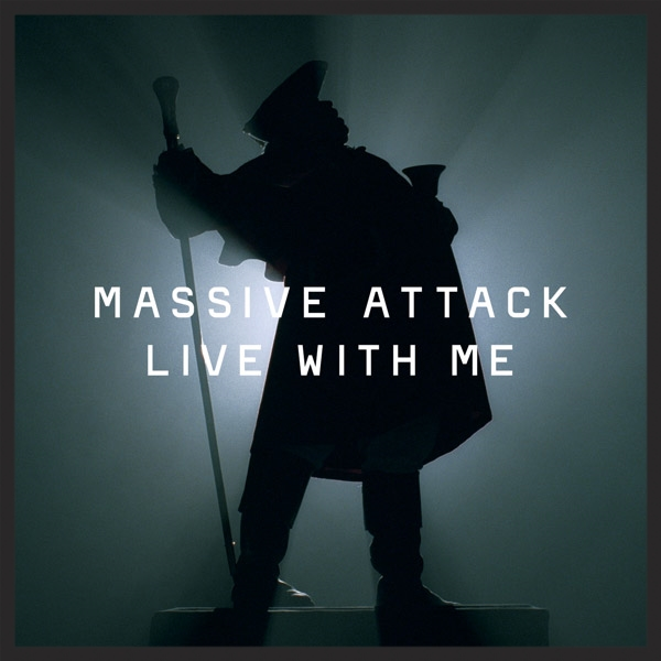 The Front Cover Of The Live With Me Single Release. The silhouette is of Alan Mynott, the town cryer of Gloucester, featured at the beginning of the video.