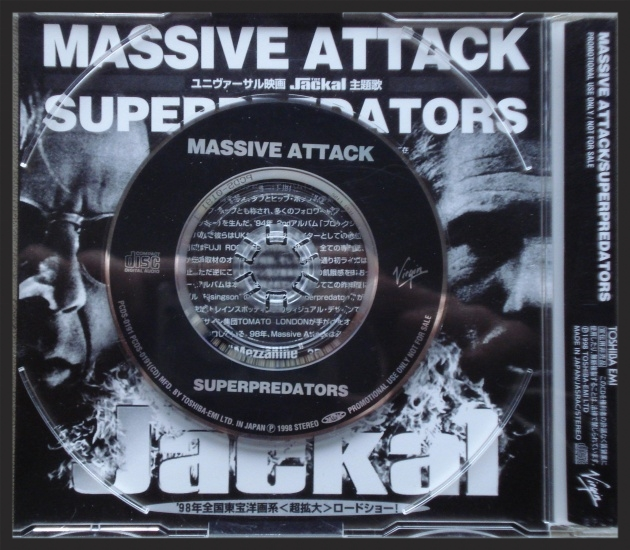 Rare Japanese promo CD of Superpredators. Superpredators was also included as a bonus track on the Japanese issue of Mezzanine in 1998.