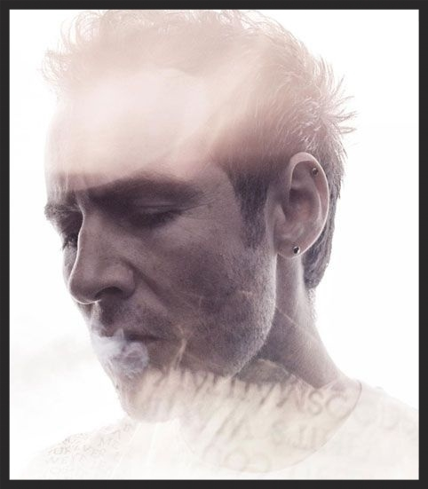 Promo photo of 3D taken by Warren du Preez & Nick Thornton Jones. One of the photos used on the official Massive Attack circa 2003 in conjunction with Small Time Shot Away.