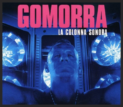 Front cover of the Gomorra soundtrack which featured Herculaneum as the final track.
