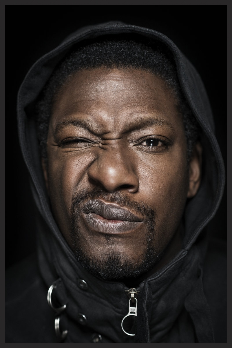 British rapper Rodney Smith AKA Roots Manuva, who performed the vocals on the Dead Editors track found on the Ritual Spirit EP.