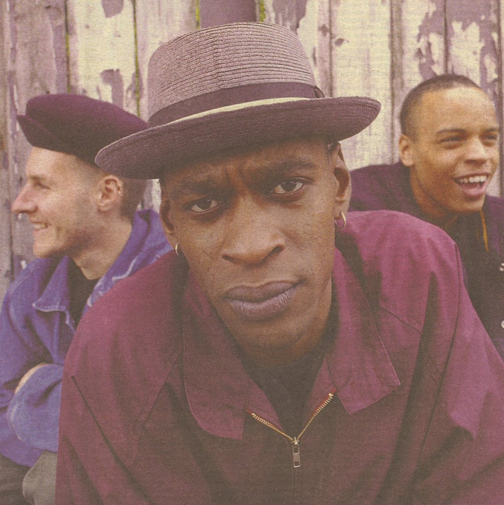 Massive Attack in a promo shot taken in 1991.
