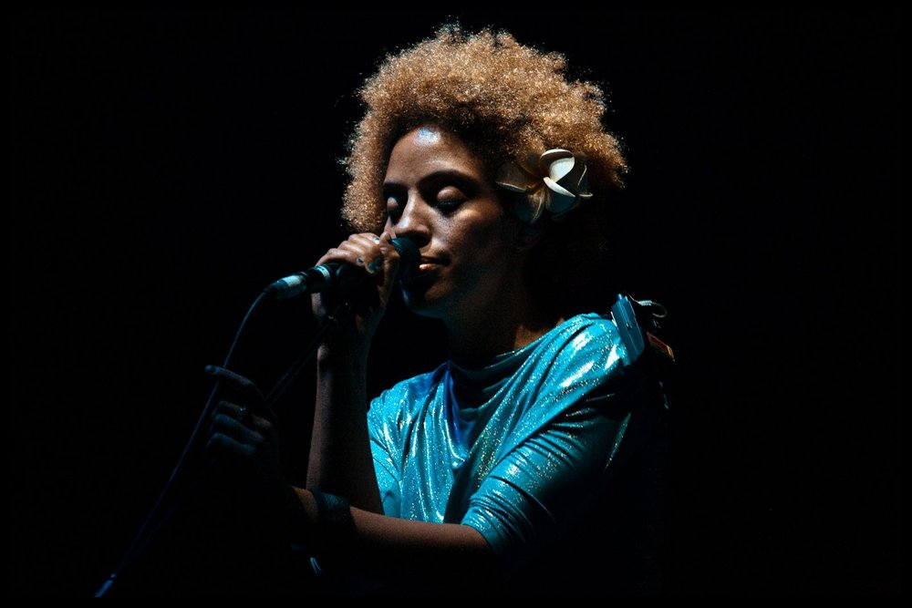 Martina Topley-Bird, performing Psyche live in Sydney, Australia on Massive Attack's 2010 Heligoland tour.