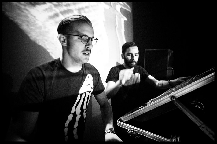 Swedish electronic duo  Van Rivers And The Subliminal Kid  remixed Flat Of The Blade for its inclusion on the Splitting The Atom EP.