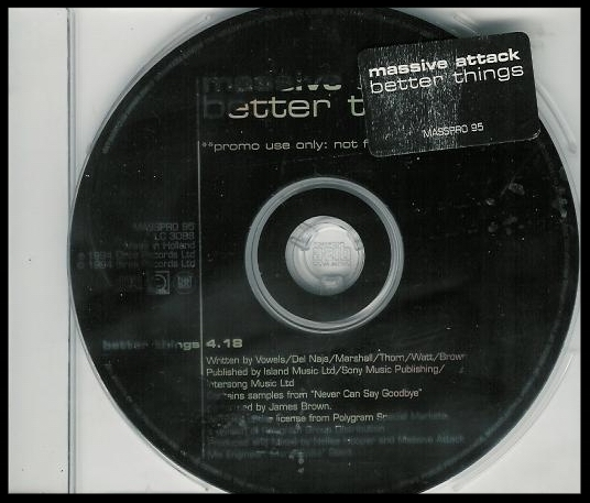 Rare promo CD single of Better Things.