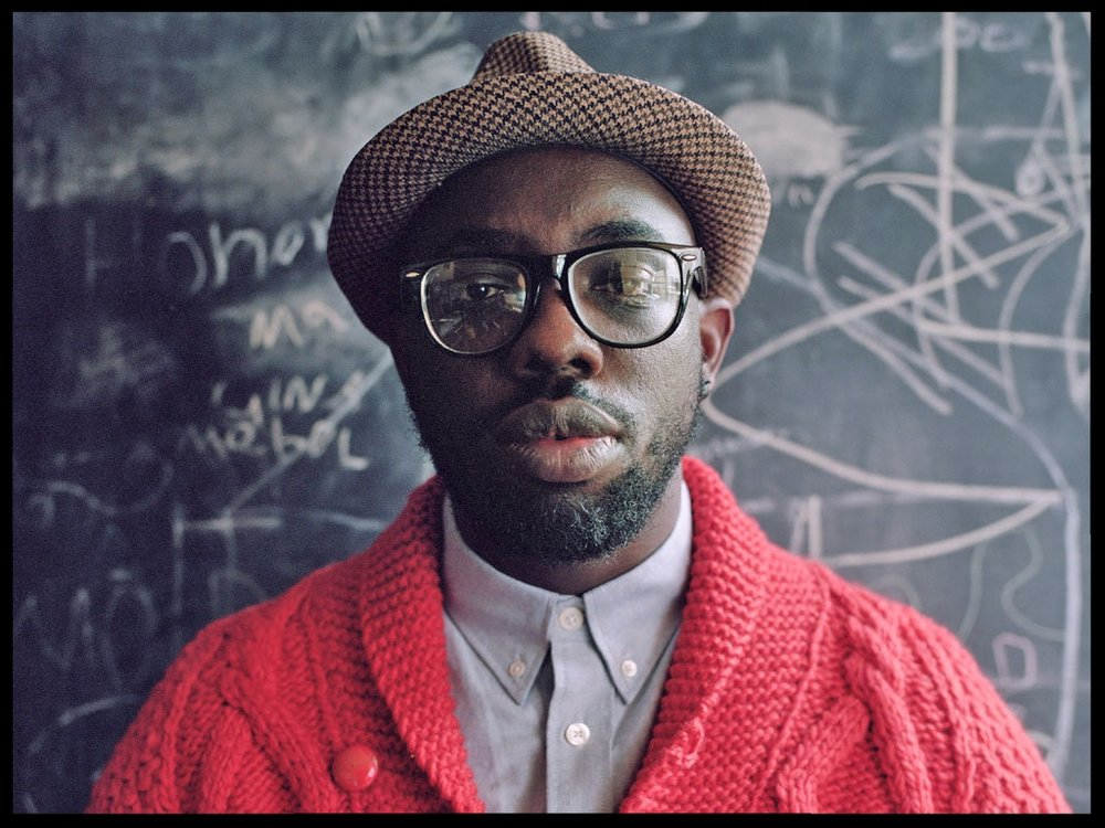 Obaro Ejimiwe is a British vocalist and musician better known by his stage name  Ghostpoet , who provided guest vocals on Come Near Me.