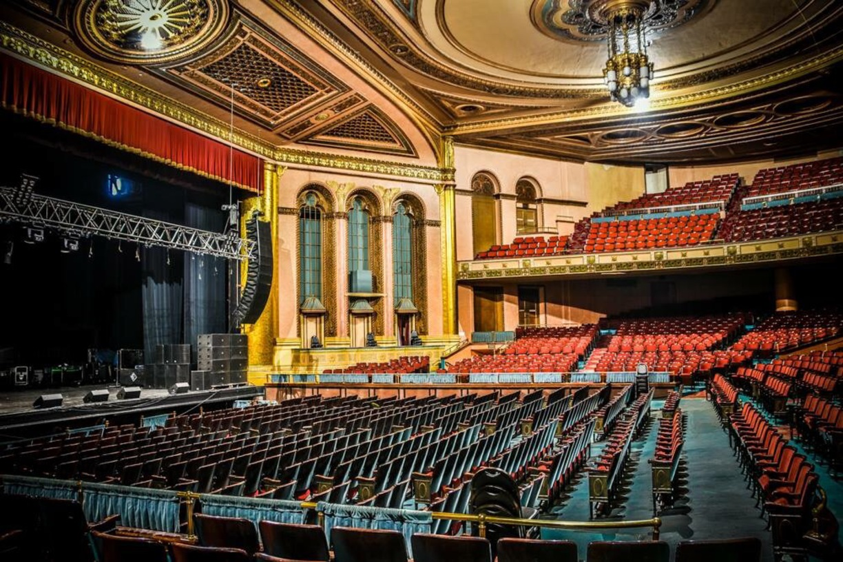 Masonic Temple, Detroit, United States — MASSIVEATTACK IE