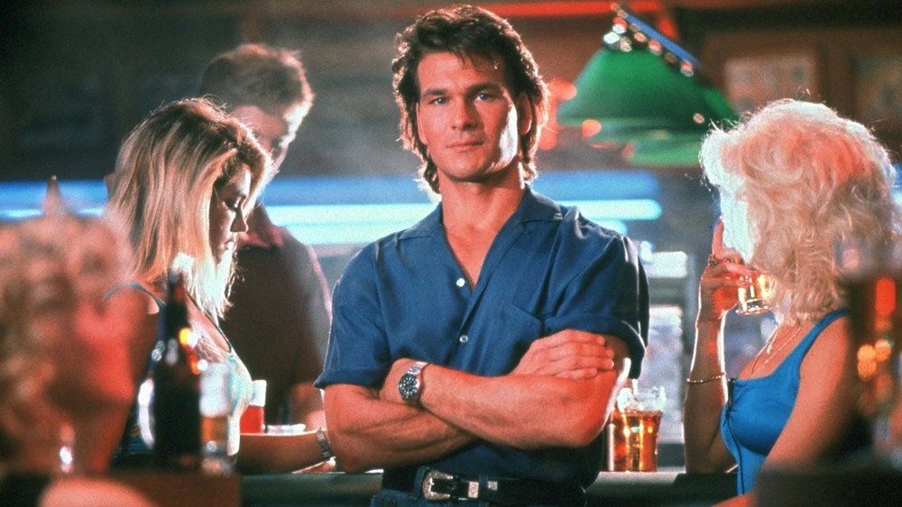 "Patrick Swayze in ""Road House.""  (MGM Home Entertainment Photo)"