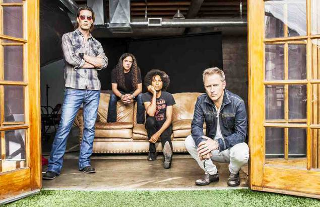 Hard rock band Alice in Chains will close out Musikfest on Aug 16.  (Photo Courtesy of ArtsQuest)