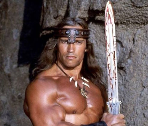Arnold Schwarzenegger as Conan the Barbarian. The character is the inspiration for Two Rivers Brewing Company's new Destroyer Pale Ale. (Universal Pictures Photo)