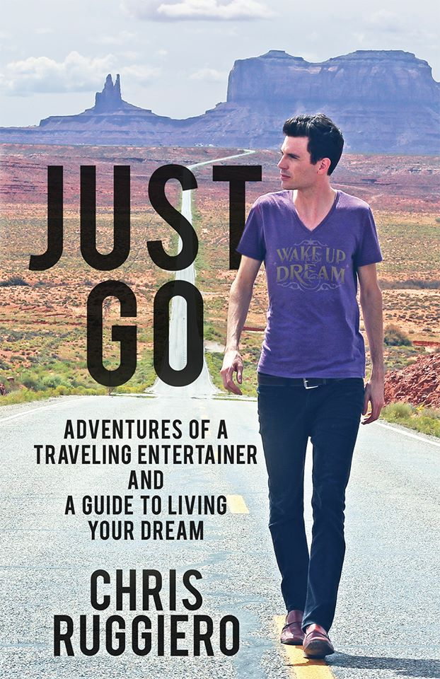 "Cover art for Chris Ruggiero's book, ""Just Go.""  (Photo Courtesy of Chris Ruggiero)"