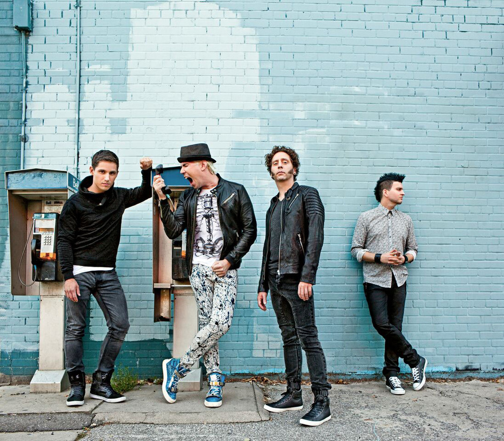 Canadian pop-rock band Marianas Trench will perform Nov. 22 at Musikfest Cafe in Bethlehem. (Photo Courtesy of ArtsQuest)