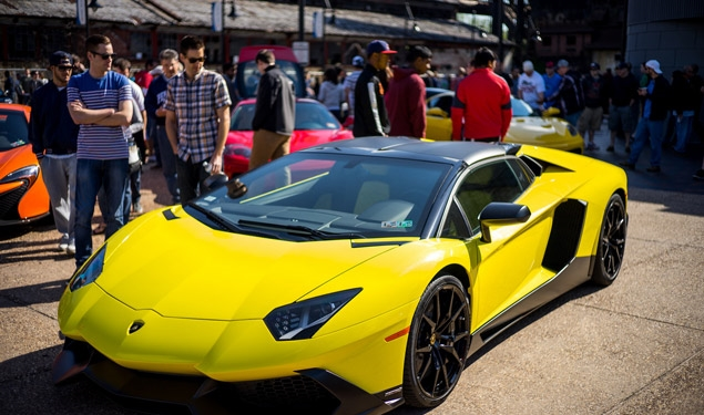 """Cars & Coffee Lehigh Valley"" event returns Sunday to the SteelStacks complex in Bethlehem.  (Zachery Emerick Photo)"