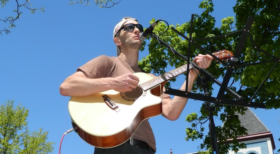 Singer-songwriter Scott Harrington is one of four musicians headlining the '90s Acoustic Rock Benefit Show on Sept. 26 at Pearly Baker's Alehouse in Easton. (Courtesy Photo)