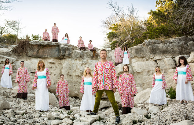 Choral rock group The Polyphonic Spree will perform Oct. 28 at Musikfest Cafe in Bethlehem.  (Courtesy Photo)