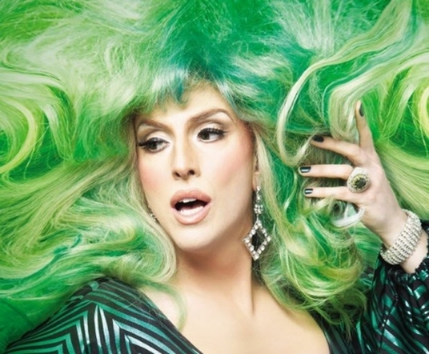 Drag performer Hedda Lettuce will return Dec. 4 to Easton.  (Courtesy Photo)