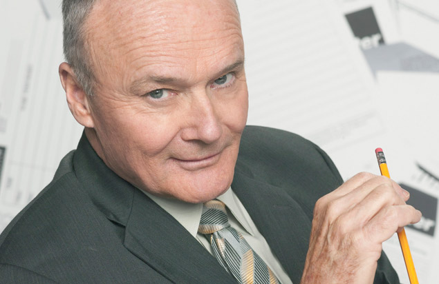 "Actor-musician Creed Bratton, best known for his portrayal of the creepy Dunder-Miflin employee of the same name on the former NBC series ""The Office,"" performs tonight at the ArtsQuest Center at SteelStacks in Bethlehem.  (Courtesy Photo)"