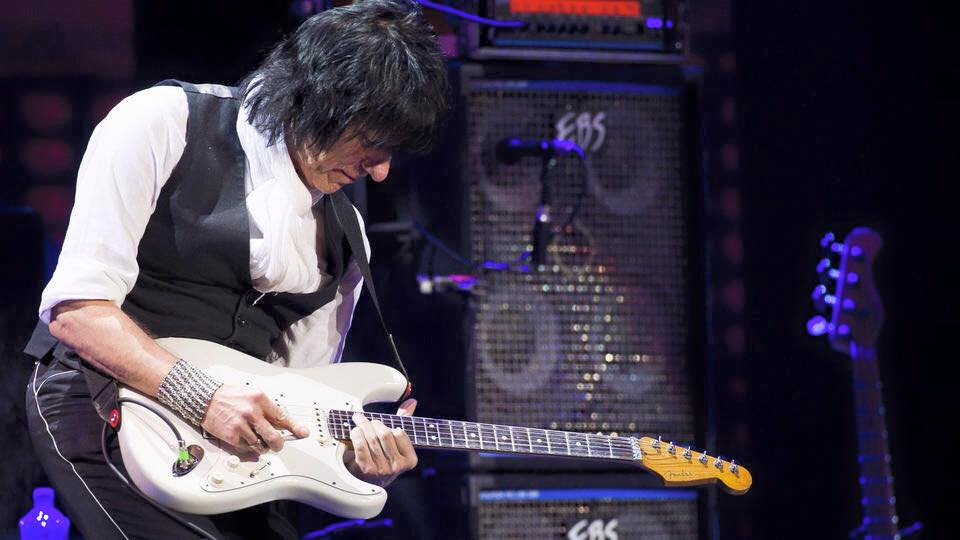English rock guitarist Jeff Beck will return July 24 to the Sands Bethlehem Event Center in Bethlehem.  (JeffBeckOfficial.com Photo)